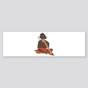 Didgeridoo Player Bumper Sticker