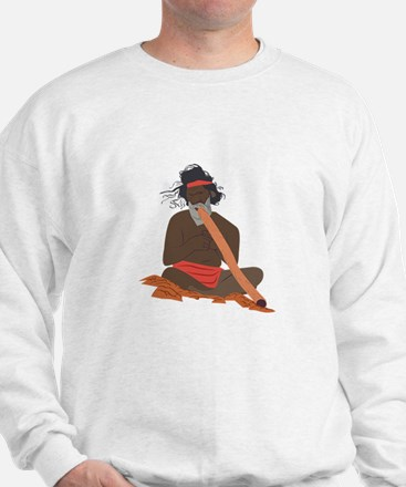 Didgeridoo Player Sweatshirt
