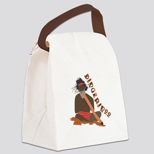 Didgeridoo Canvas Lunch Bag