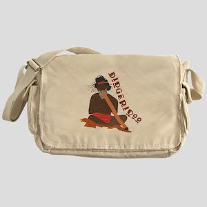 Didgeridoo Messenger Bag