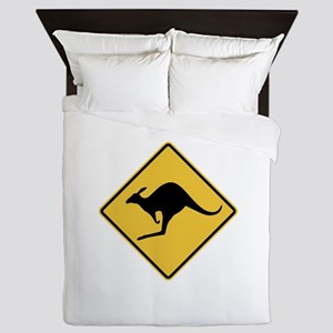 Kangaroo Sign Queen Duvet