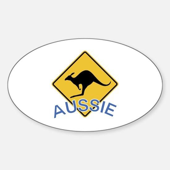 Aussie Kangaroo Decal