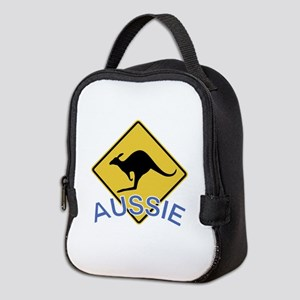 Aussie Kangaroo Neoprene Lunch Bag