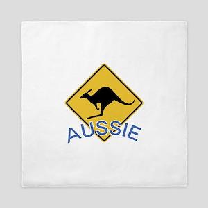 Aussie Kangaroo Queen Duvet