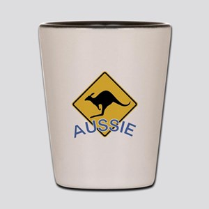 Aussie Kangaroo Shot Glass