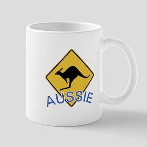 Aussie Kangaroo Mugs