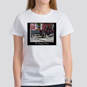 The Beauty of France-Bicycles Women's T-Shirt