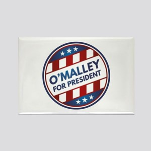 O'Malley For President Rectangle Magnet