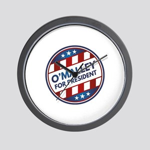 O'Malley For President Wall Clock