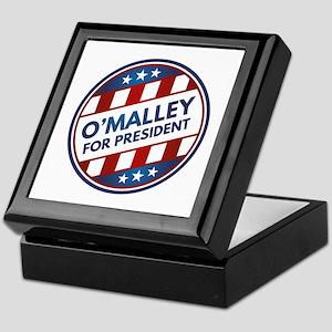 O'Malley For President Keepsake Box