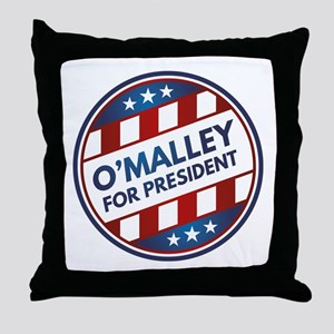 O'Malley For President Throw Pillow