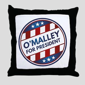 O'Malley For President Throw Pillow