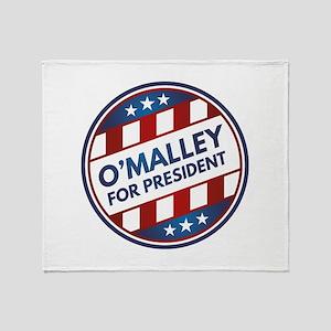 O'Malley For President Stadium Blanket
