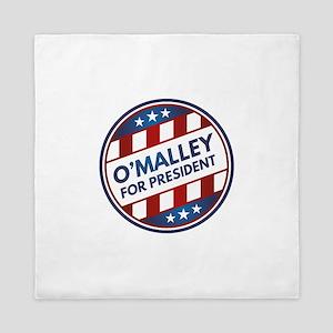 O'Malley For President Queen Duvet