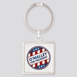 O'Malley For President Square Keychain