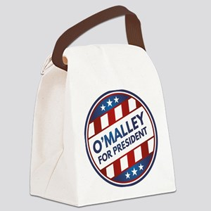 O'Malley For President Canvas Lunch Bag