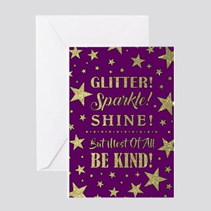 GLITTER, SPARKLE... Greeting Cards