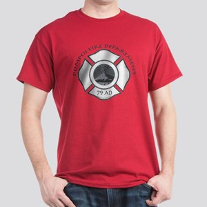 Pompeii Fire Department Dark T-Shirt