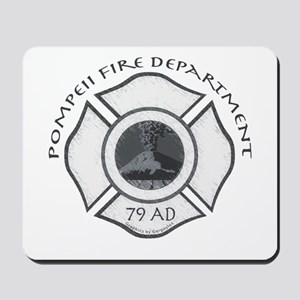 Pompeii Fire Department Mousepad