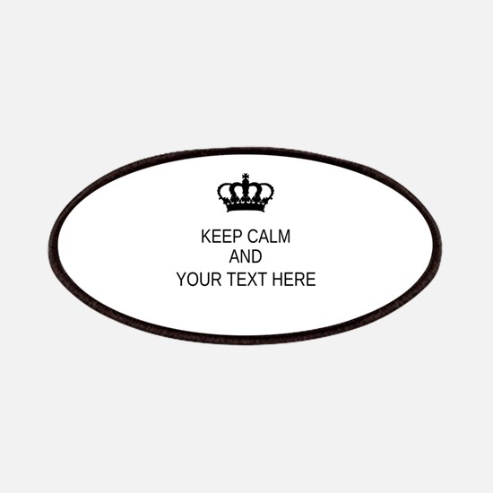 Personalized Keep Calm Patch