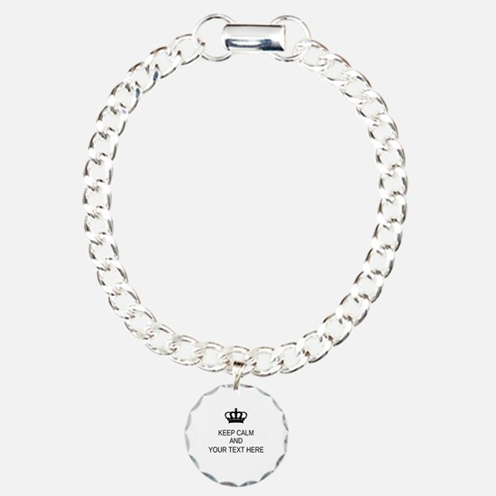 Personalized Keep Calm Bracelet