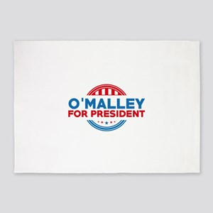 O'Malley For President 5'x7'Area Rug