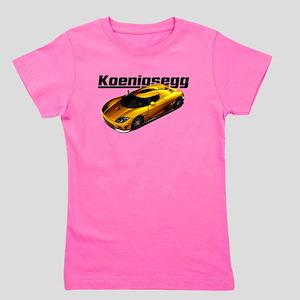 Swedish Supercar Girl's Tee