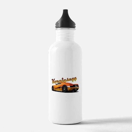 Swedish Supercar Water Bottle