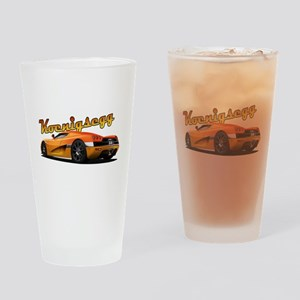 Swedish Supercar Drinking Glass