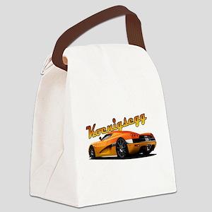 Swedish Supercar Canvas Lunch Bag