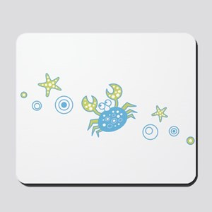 Pale Blue Crab Mousepad