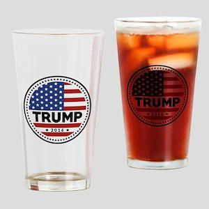 Trump 2016 Drinking Glass