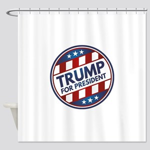 Trump For President Shower Curtain