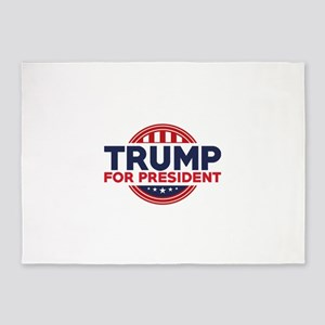 Trump For President 5'x7'Area Rug