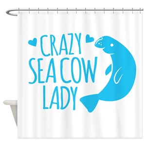 Dugong Shower Curtains