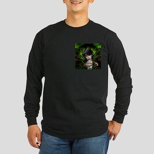 EMERALD ROSE GARDEN Long Sleeve Dark T-Shirt