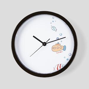 Submarine London Wall Clock