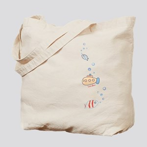 Submarine London Tote Bag