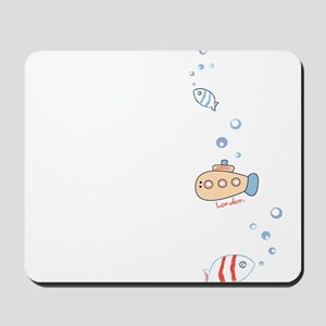 Submarine London Mousepad