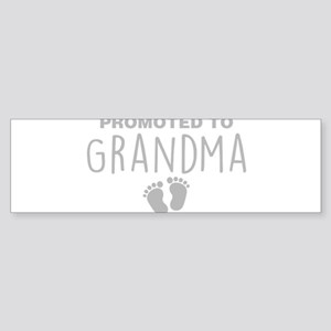 Promoted To Grandma Bumper Sticker