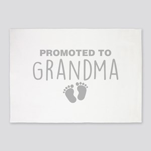Promoted To Grandma 5'x7'Area Rug