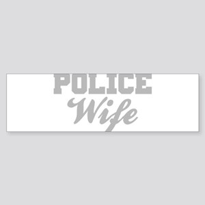 Police Wife Bumper Sticker