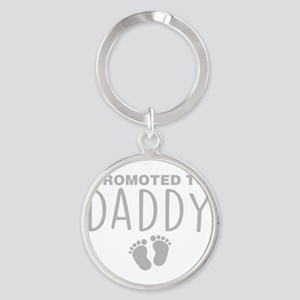 Promoted To Daddy Keychains