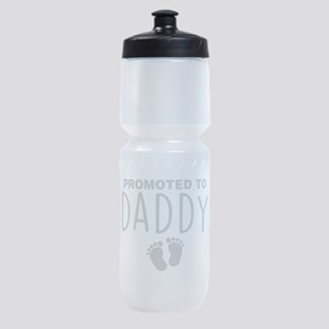 Promoted To Daddy Sports Bottle