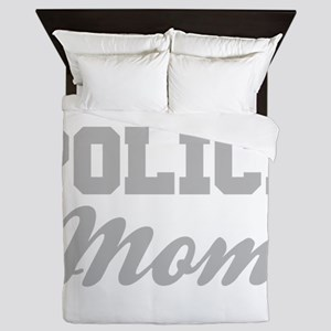 Police Mom Queen Duvet