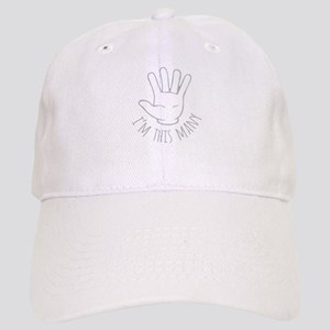 Im This Many Five Baseball Cap