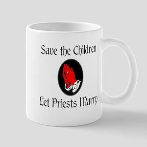 Let Priests Marry Mug