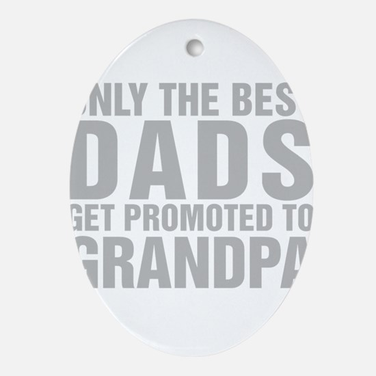 Only The Best Dads Get Promoted To Grandpa Oval Or
