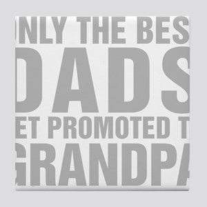 Only The Best Dads Get Promoted To Grandpa Tile Co