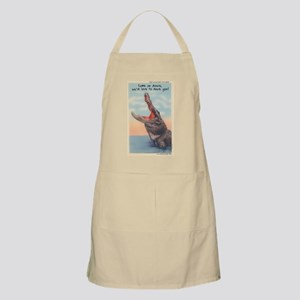 Alligator Invitation BBQ Apron